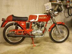 Ducati 24 horas de 250 cc original del año 1966, restaurada completamente y periódicamente revisado su funcionamiento.