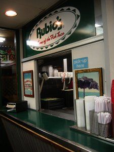 Rubio's Fish Tacos-the original location. Have to go there on every trip to San Diego.