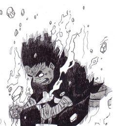 Rock Lee - Extreme Lotus by on DeviantArt Art Naruto, Manga Naruto, Naruto Sketch, Naruto Drawings, Wallpaper Naruto Shippuden, Naruto Wallpaper, Naruto Shippuden Anime, Boruto, Art Manga