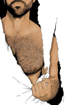 """""""Freedom"""" - Personal work with Photoshop Illustration Sketches, Art Sketches, Art Drawings, Homme Gay Sexy, Art Gay, Man Sketch, Scratch Art, Cartoon Man, Inspirational Artwork"""
