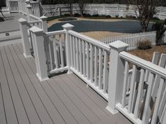 Deck Stain color and Railing post style