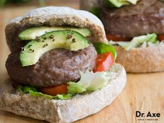 Avocados are high in healthy fats, potassium, magnesium, and fiber. Try incorporating avocados into your diet with this avocado bison burger recipe!