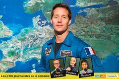Prêt à partir dans l'espace, Thomas Pesquet répond aux enfants