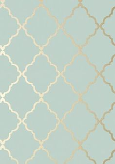 Home Interior Salas Klein Trellis - Metallic Gold on Aqua wallpaper from the Seraphina Wallpaper collection by Anna French.Home Interior Salas Klein Trellis - Metallic Gold on Aqua wallpaper from the Seraphina Wallpaper collection by Anna French Aqua Wallpaper, Bathroom Wallpaper, Wallpaper Backgrounds, Metallic Wallpaper, Luxury Wallpaper, Wallpaper Online, Duck Egg Blue And Gold Wallpaper, Living Room Wallpaper Duck Egg, Custom Wallpaper