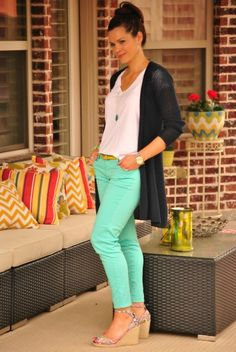 Trend Watch | Mint & Skinny