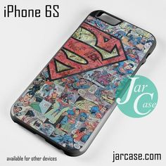 Superman Comic Pattern Phone case for iPhone 6/6S/6 Plus/6S plus