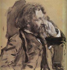 Maestros del retrato: El ruso Valentín Seróv - TrianartsTrianarts