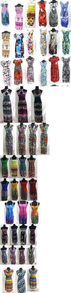 Dresses 50986: 25 Pcs Wholesale Bohemian Dresses, Beach Dress Bulk Cheap*Ship From Us Canada* -> BUY IT NOW ONLY: $205 on eBay!