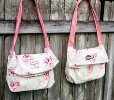 2 cute bags from 1 yard of fabric!