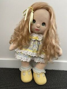 Find many great new & used options and get the best deals for MY CHILD DOLL - Rare Strawberry Side Part at the best online prices at eBay! Brunette Blue Eyes, Child Doll, Green Eyes, Red Hair, Strawberry, Dolls, Purple, Children, Ebay