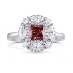 Extraordinary Marquise & Round Halo Ring Setting, SKU 40399S