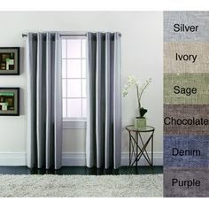 @Overstock.com - Brielle Linen Blend Curtain Panels - Available in six exciting colors to coordinate with your decor, this linen curtain panel boasts a contemporary look that blends well with most decorating styles. Constructed from a classic linen blend, this curtain will dress your windows beautifully.  http://www.overstock.com/Home-Garden/Brielle-Linen-Blend-Curtain-Panels/8254453/product.html?CID=214117 $27.99