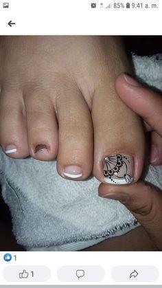 Trendy Nail Art, Manicure And Pedicure, Toe Nails, Nail Designs, Hair Beauty, Nail Polish, Lily, Make Up, Tattoos