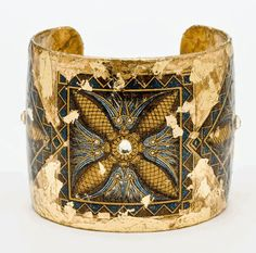 Tigris Cuff - Gold by Evocateur