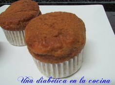 Muffins de canela sin azúcar