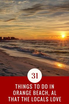 Orange Beach is Alabama's coastal community juxtaposing the Gulf of Mexico. A bustling destination for spring breakers and summer vacationers, this family beach retreat is also perfect in the more affordable shoulder season (the spring and bookends to summer). Known for blue-green waters that rush upon soft, white-sand beaches, Orange Beach presents a myriad of accommodations, an amazing culinary scene, adventure and water recreation.