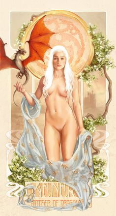 # DAENERYS MOTHER OF DRAGONS by inuevan on deviantART