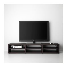 "BESTÅ TV unit IKEA Air circulation around the electronics is improved because the TV bench has vents at the top. 70"" $109"