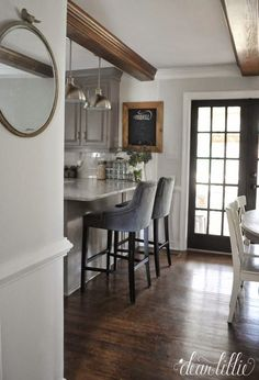 I like this ** The Ending Touches on Our Kitchen Makeover (Earlier than and Afters)