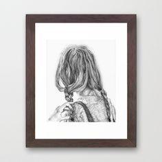 Wanderer Framed Art Print