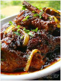 DapurKu SaYang: Ayam Kicap Berlada Hitam