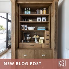 How have pantries evolved through the years? Our latest blog post goes into the history, evolution and how you can optimize your pantry. @detroitneat on Instagram Smart Storage, Pantries, Pantry Organization, Kitchen And Bath, Bathroom Medicine Cabinet, Liquor Cabinet, Evolution, Kitchens, History