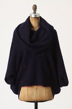 NEW-Anthropologie-Sparrow-Hallowell-Cowlneck-Sweater-Size-S
