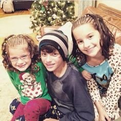 This is Hayley , Annie and caleb from bratayley