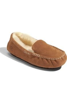 UGG® 'Ansley' Water Resistant Slipper (Women) available at #Nordstrom