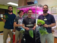 The Hydroponic Garden is a project designed and implemented by VUSN Community Health Prespecialty students for preschool children at a local YMCA.