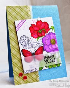 Jazzy Paper Designs: Curtain Call-Bouquet