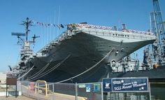 We imagine most kids will be pretty darn thrilled to board the U.S.S. hornet, a national historic landmark, and learn more about this ship's role in naval aviation history and the exploration of space as well.