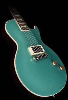 Gibson Custom Shop Limited '57 Single Pickup Les Paul Electric Guitar Inverness Green