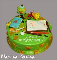первоклашка торт - Cerca con Google