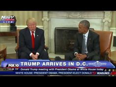 MUST WATCH: Donald Trump Meets With President Obama at White House - FUL...