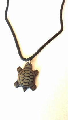 Turtle Necklace, Surfers Braided Leather Cord Necklace, Beach Jewelry #Etsymntt #handmadechristmas