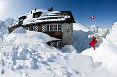 Das sind die 5 schönsten Hütten für den Winter - Etzlihütte by @AlpineBlog #Schweiz #Deutsch #Blog