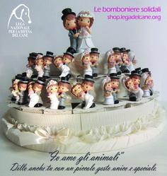 #Solidarietà - gli #AttimiSolidali della #LegadelCane: scegli le #bomboniere per il tuo giorno speciale