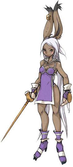 Viera Fencer - Characters & Art - Final Fantasy Tactics Advance