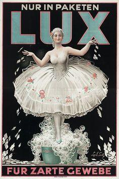 vintage Lux laundry soap advertisement