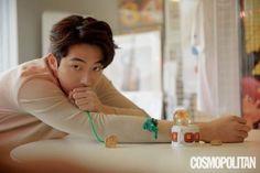 Nam Joo Hyuk on the Cover of Cosmo Men Korea December 2018 Han Ji Min, Shin Se Kyung, Lee Sung Kyung, Steve Jobs, Nam Joo Hyuk Photoshoot, Jong Hyuk, Ahn Hyo Seop, Swag Couples, Song Joong