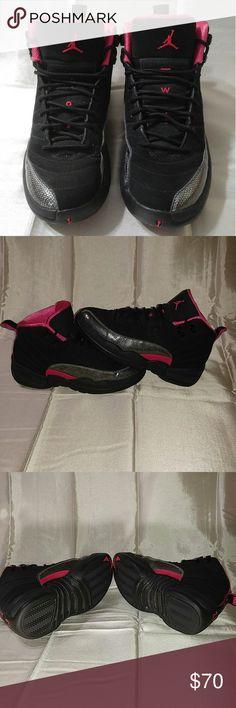 e2de8866615ae1 Air Jordan 12 Retro GP  Rush Pink  Youth Sneakers Air Jordan 12 Retro GP