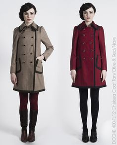 Dear Creatures coat for the fall season