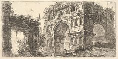Giovanni Battista Piranesi   Plate 11: Temple of Janus (Tempio di Giano) from the series 'Antichita Romana'   The Met