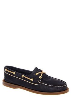 Sperry TopSider Womens BlackGold AO Metallic Piping 9 BM US ** Want additional info? Click on the image.