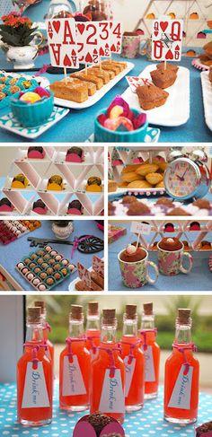 Kartenpyramide für Mini Muffins
