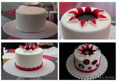 exploding cake  step by step