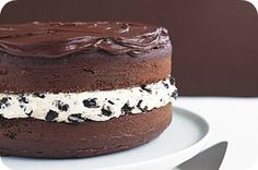 Chocolate Covered Oreo Cake (I like all of those words!) from Somewhat Simple