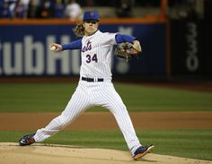 Noah Syndergaard, NYM/// WS Game 3 v KC, Oct 30, 2015