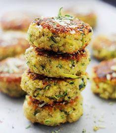 Mis Recetas Favoritas: Croquetas de Quinoa & Zapallo Italiano